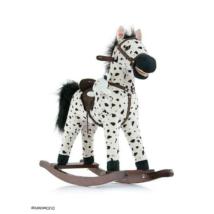 Hintaló Milly Mally Mustang fehér - fekete pöttyös
