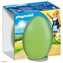 Playmobil 70083 - Libapásztor lány tojásban