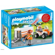 Playmobil 70053 - Mentő quad utánfutóval