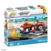 COBI 1472 - ACTION TOWN Tűzoltó quad