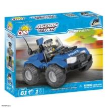 COBI 1547 - ACTION TOWN Rendőrségi ATV járőr
