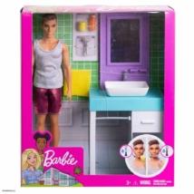 Mattel Barbie - Ken a Fürdőszobában