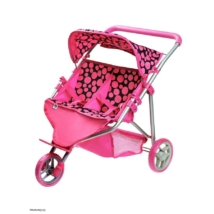 Sport babakocsi 2 babának PlayTo Klaudie rózsaszín