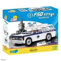 COBI 24545 - Polski Fiat 125p Mentő 1:35