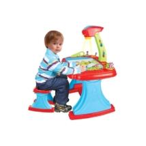 Bayo: Gyermek kétoldalas tábla projektorral és székkel +93 db kiegészítővel