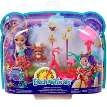 Enchantimals : Bicajbarátok játékszett