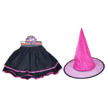 Szoknya és kalap szett - boszorkány jelmez 2