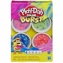 Play- Doh Color Burst gyurmaszett 4x56g