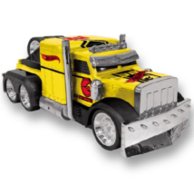 Hot Wheels Turbo Tuning Truck Detroyed hátrahúzós kisautó 28 cm