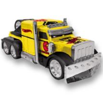 Hot Wheels Turbo Tuning Truck Detroyed hátrahúzós kisautó 28 cm