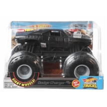 Hot Wheels: monster trucks dodge charger 1/24 fém autó