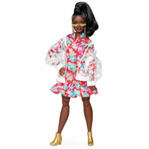 Barbie BMR1959 Retro divatbaba esőkabátban