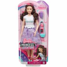 Barbie Princess Adventure: hercegnő baba lila szettben