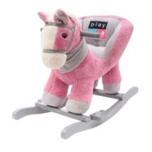 Hintajáték dallammal rózsaszín lovacska
