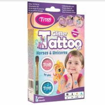 TyToo - Unikornisos csillámtetoválás