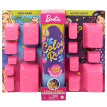 Barbie Color Reveal Ultimate meglepetés baba Dog Park to Movie Night