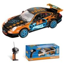 RC Hot Wheels Porsche 911 távirányítós autó 1/14