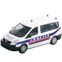Peugeot Expert rendőrségi kisautó 1/43