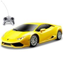 RC Lamborghini Huracán citromsárga 1:24 távírányítós autó 40MHz