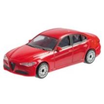 Alfa Romeo Giulia fém autómodell 1/43 piros