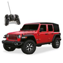 RC Jeep Wrangler Rubicon piros