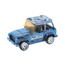 Security: Police Jeep kisautó 1/64