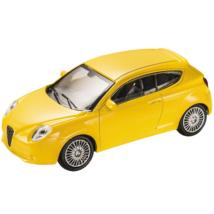 Alfa Romeo Mito sárga kisautó 1/43