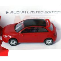 Fast Road: Audi A1 Limited Edition piros fém autómodell 1/43