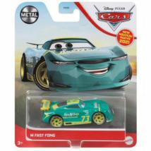 Verdák: M Fast Fong karakter-autó 1/55 – Mattel