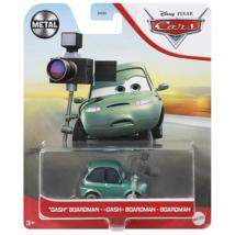 Verdák: Dash Boardman karakter-autó 1/55 – Mattel
