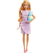 Barbie Tiny Wishes babaváró buli baba lámával