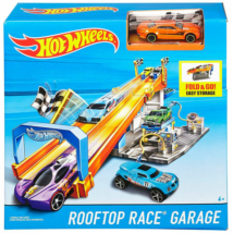 Hot Wheels Rooftop race garázs szett