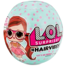 LOL Surprise hairvibes tots asst- hajas babák
