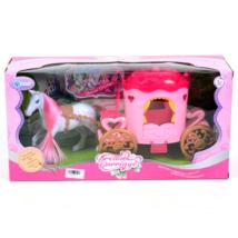 MK Toys: Pink lovashintó szett lóval