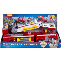 Mancs őrjárat nagy méretű tűzoltó kocsi fényekkel és hanggal