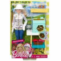 Barbie: Méhész játékszett babával és kiegészítővel