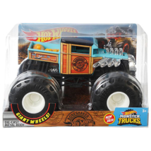 Hot Wheels: Bone shaker monster truck járgány 1/24