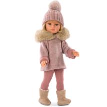 Olivia szőke baba rózsaszín ruhában 37 cm-es