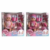 MK TOYS- Pisilő baba fogorvosi játékszettel