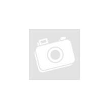 Pisilős baba csillagos ruhában hanggal és kisággyal 30 cm