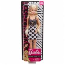 Barbie Fashionista baba pöttyös ruhában