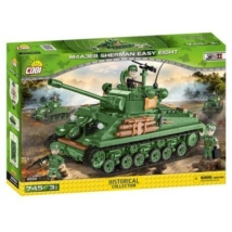 COBI 2533 - II WW M4A3E8 Sherman Easy Eight, 745 LE, 3 f