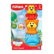 Playskool Mokás állat torony