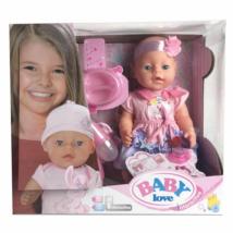 MK TOYS- Sírós baba cumival és kiegészítőkkel
