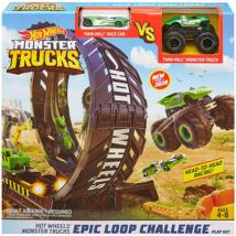 Hot Wheels monster truck szörnyhurok pályaszett