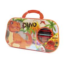 Dinoszauruszos nagy kreatív készlet táskában