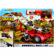 Hot Wheels monster truck downhill 2 az 1-ben