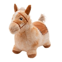 PlayTo: Plüss felfújható ugráló ló hangokkal