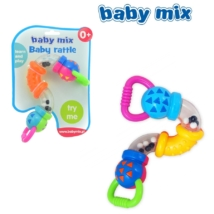 BABY MIX- Cikk cakk csörgő