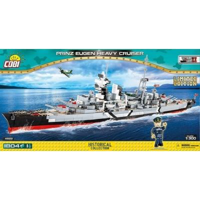COBI 4822 - WW II Cruiser Prinz Eugen LIMITED EDITION